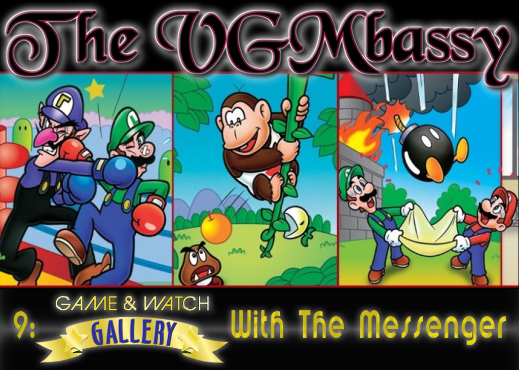 Episode 09 – Game & Watch Gallery with The Messenger