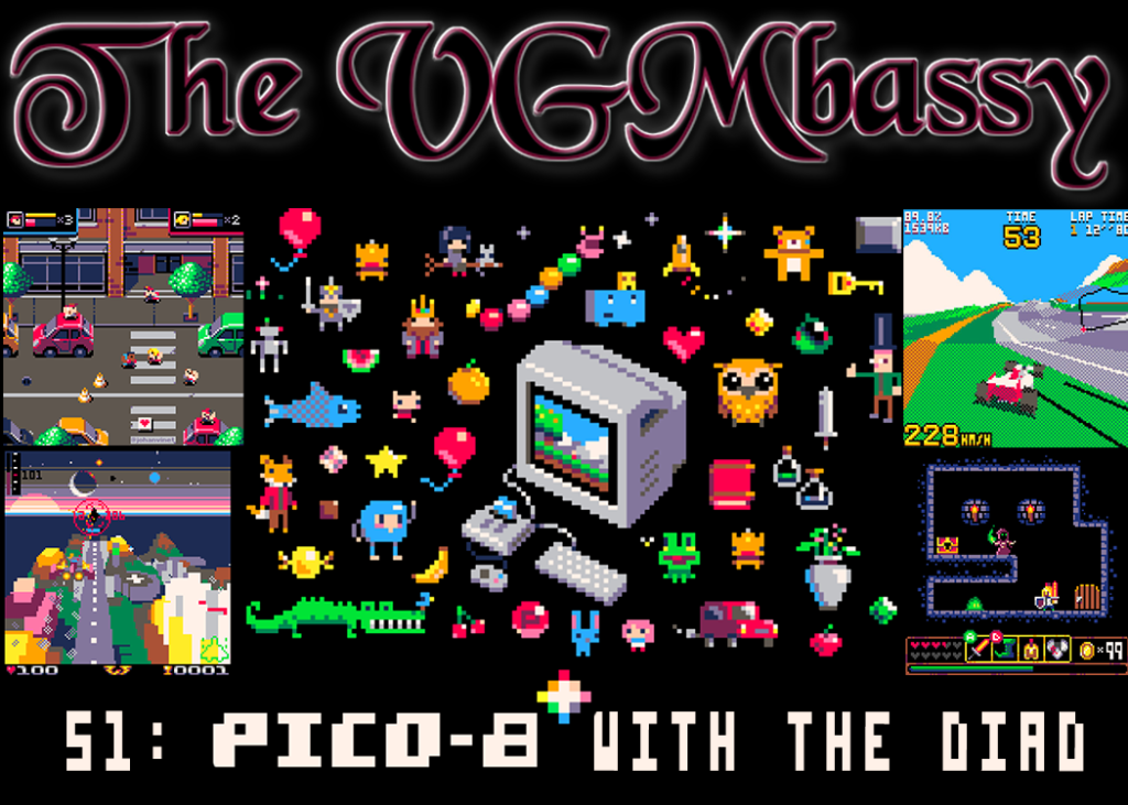 Episode 52: PICO-8 with The Diad